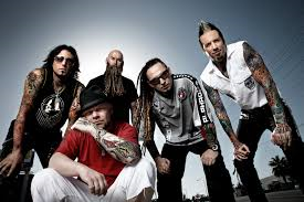 Booking Five Finger Death Punch