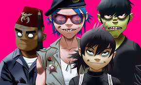 Booking Gorillaz