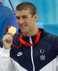 Book Michael Phelps
