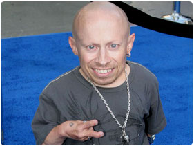 Book Verne Troyer  Mini Me