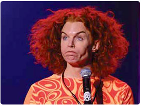 Booking Carrot Top
