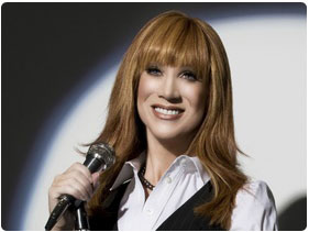 Booking Kathy Griffin Comedian
