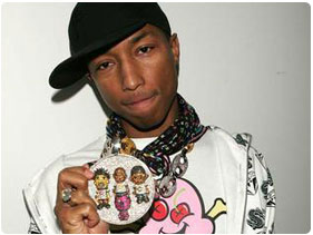 book Pharrell Williams