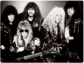 Booking Twisted Sister