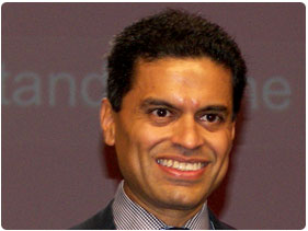 Booking Agent for Fareed Zakaria