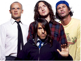 Booking Red Hot Chili Peppers